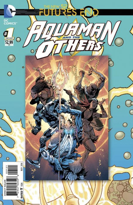 AQUAMAN OTHERS NEW 52 FUTURES END #1 STANDARD EDITION