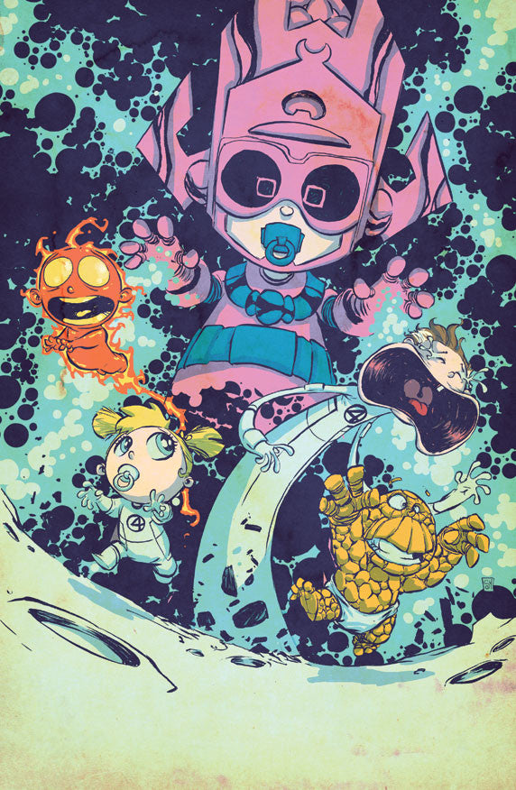 Fantastic Four #1 Skottie Young Variant