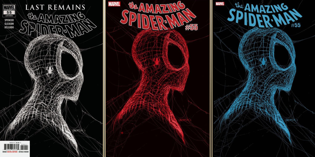 AMAZING SPIDER-MAN #55 - 3 COVER PACK