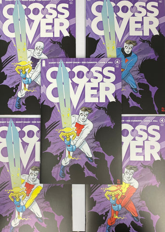 CROSSOVER #4 Secret Variant Cover Pack