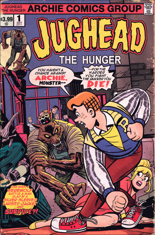"JUGHEAD THE HUNGER #1 ""Moon Knight"" Tribute Variant Cover EXCLUSIVE"