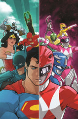 JUSTICE LEAGUE POWER RANGERS #1 Collector's Pack Preorder