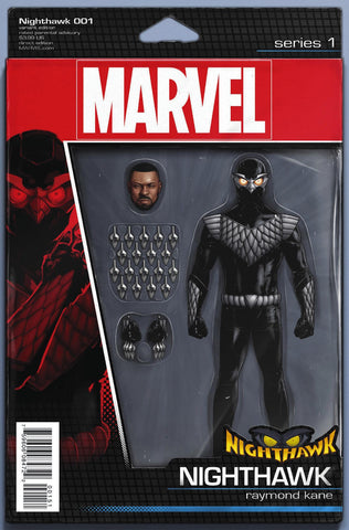 NIGHTHAWK #1 ACTION FIGURE VARIANT