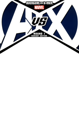 AVENGERS VS X-MEN #1 (OF 12) BLANK VARIANT WITH DIG CDE AVX
