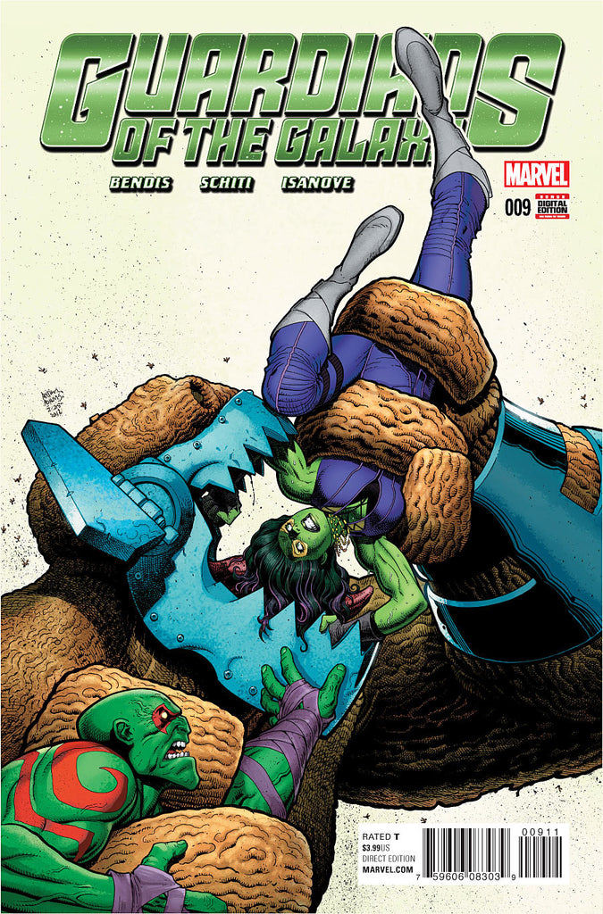 GUARDIANS OF THE GALAXY ANAD #9