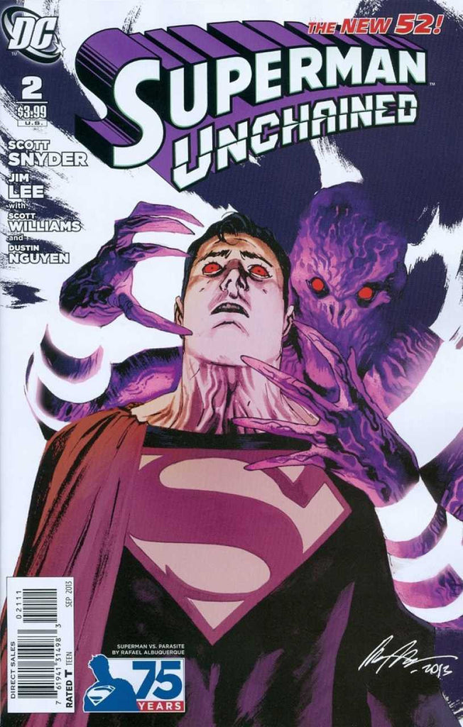 SUPERMAN UNCHAINED #2 VILLAIN VARIANT