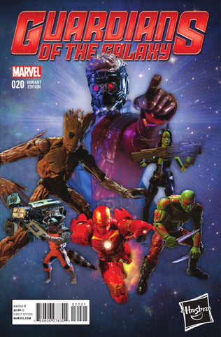 GUARDIANS OF GALAXY #20 HASBRO VARIANT