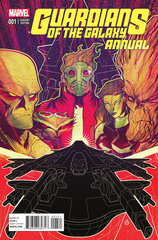 GUARDIANS OF GALAXY ANNUAL #1 DOE VARIANT