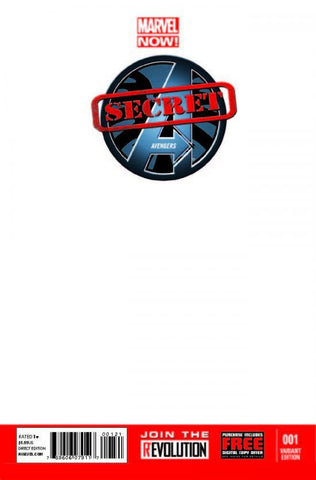 Secret Avengers #1 Blank Variant Cover