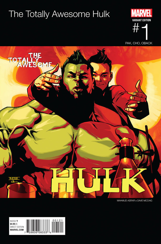 TOTALLY AWESOME HULK #1 ASRAR HIP HOP VARIANT