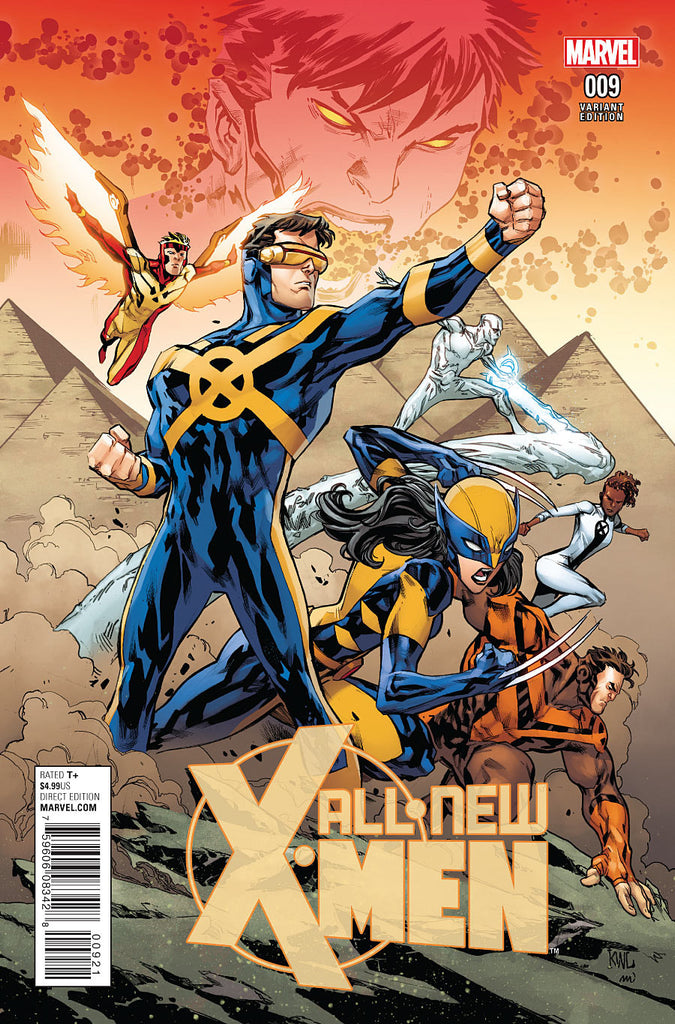 ALL NEW X-MEN ANAD #9 CONNECTING VARIANT