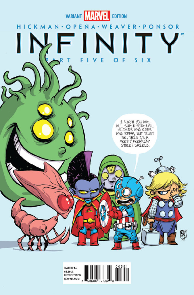 INFINITY #5 (OF 6) SKOTTIE YOUNG VARIANT