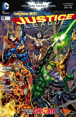 JUSTICE LEAGUE #11 Variant