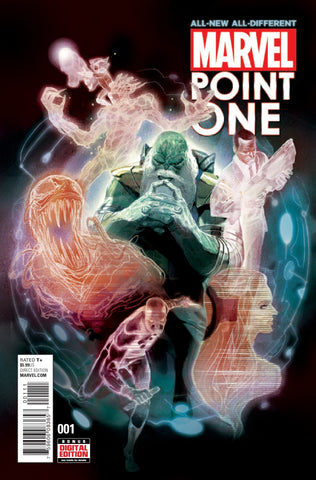 ALL NEW ALL DIFFERENT MARVEL POINT ONE #1
