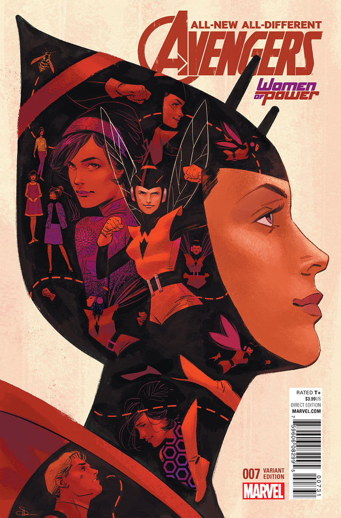 ALL NEW ALL DIFFERENT AVENGERS #7 WOMEN OF POWER VARIANT