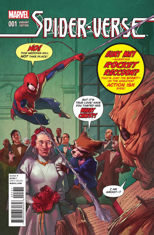 SPIDER-VERSE #1 (OF 2) CAMPBELL RR AND GROOT VARIANT