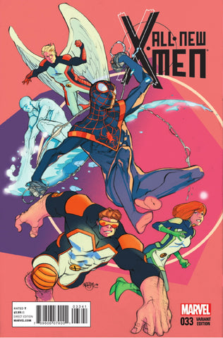 ALL NEW X-MEN #33 FERRY VARIANT
