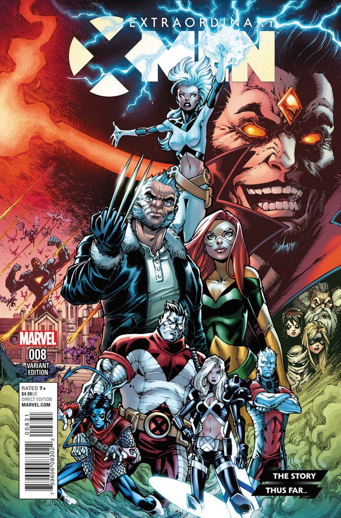 EXTRAORDINARY X-MEN #8 STORY THUS FAR VARIANT