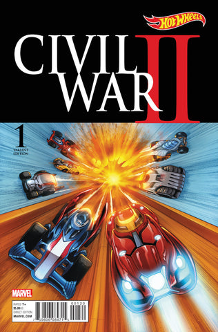 CIVIL WAR II #1 NOTO CHARACTER VARIANT COVER 1:10