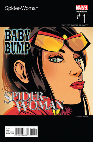 SPIDER-WOMAN #1 BUSTOS HIP HOP VARIANT