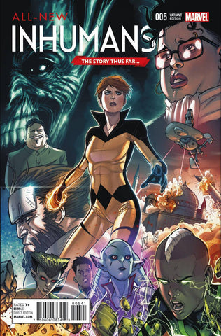 ALL NEW INHUMANS #5 STORY THUS FAR VARIANT