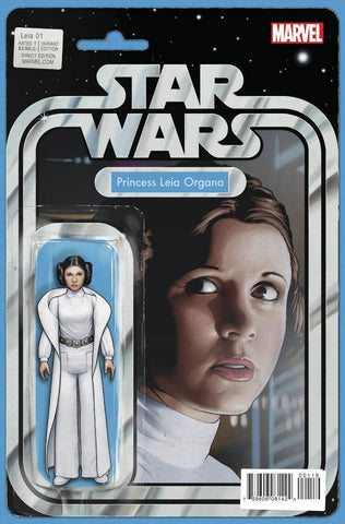 PRINCESS LEIA #1 (OF 5) ACTION FIGURE VARIANT