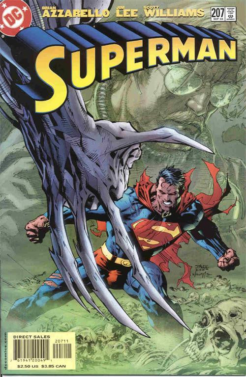 SUPERMAN #207 - Jim Lee Art