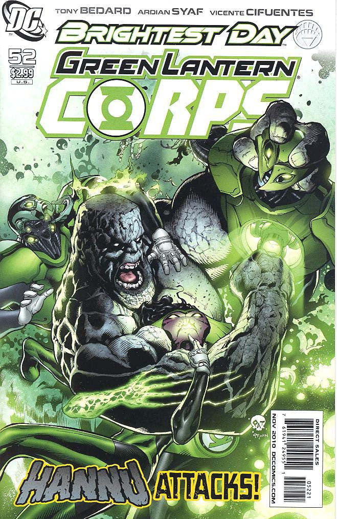 GREEN LANTERN CORPS #52 Variant Cover