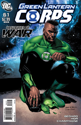 GREEN LANTERN CORPS #61 Variant Cover