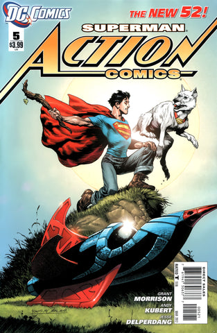 ACTION COMICS #5 Rags Morales VARIANT