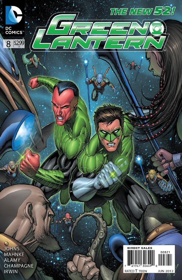 GREEN LANTERN #8 Variant Cover