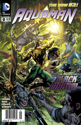 AQUAMAN (NEW 52) #9