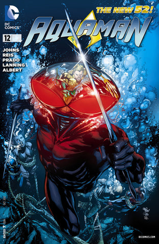 AQUAMAN (NEW 52) #12