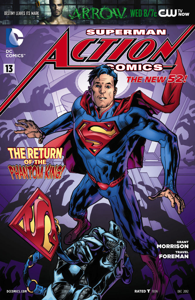 ACTION COMICS #13 combo pack variant