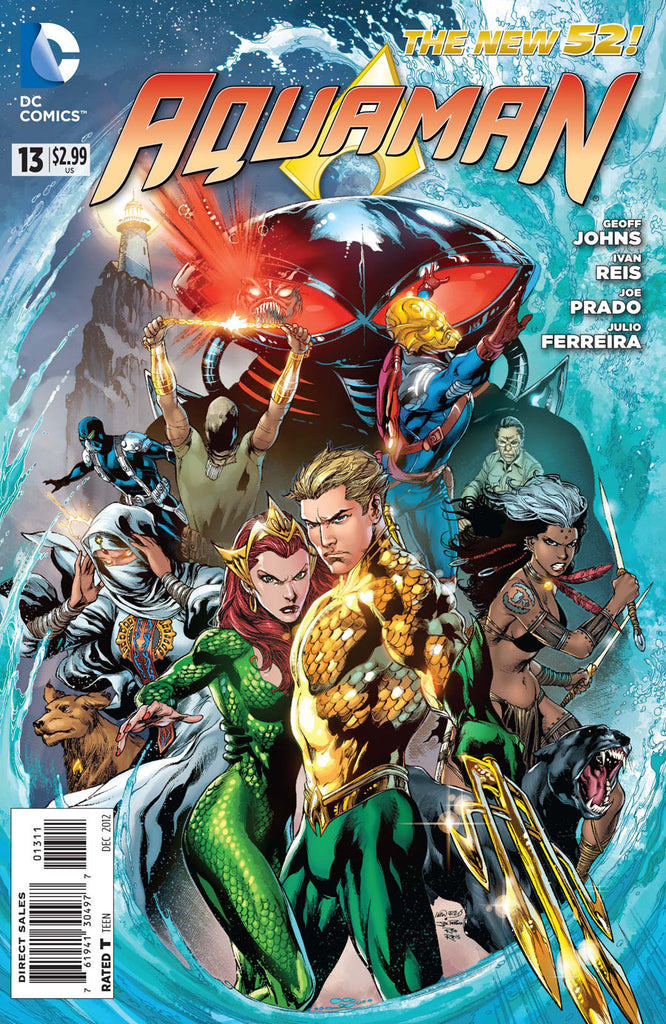 AQUAMAN (NEW 52) #13