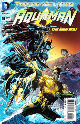 AQUAMAN (NEW 52) #15