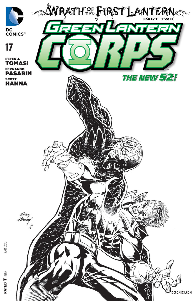 GREEN LANTERN CORPS #17 Variant Cover