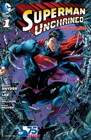 SUPERMAN UNCHAINED #1 Jim Lee