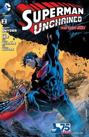 SUPERMAN UNCHAINED #2 Jim Lee