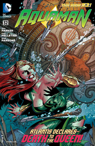 AQUAMAN (NEW 52) #32