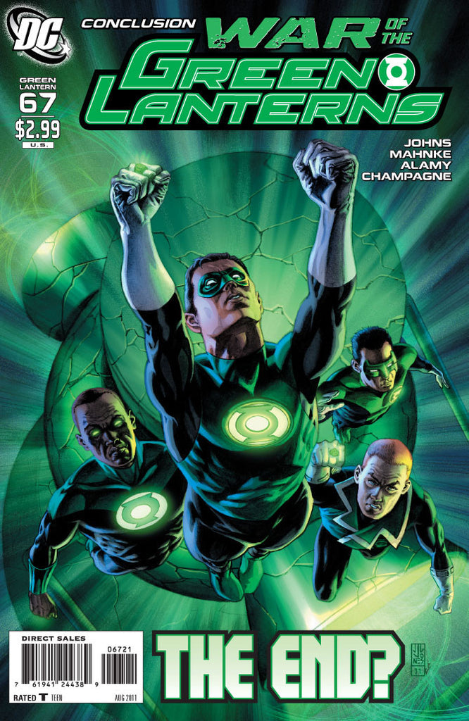 GREEN LANTERN #67 Variant Cover
