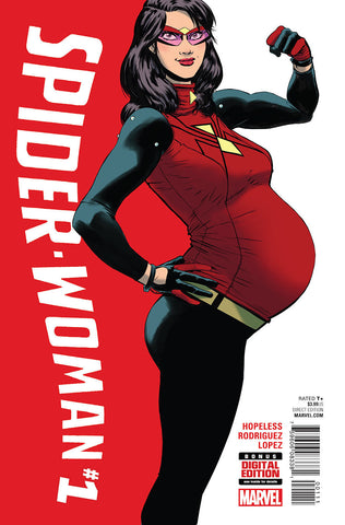 Spider-Woman #1 ANAD