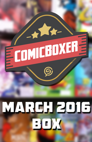 ComicBoxer March 2016 Mystery Box