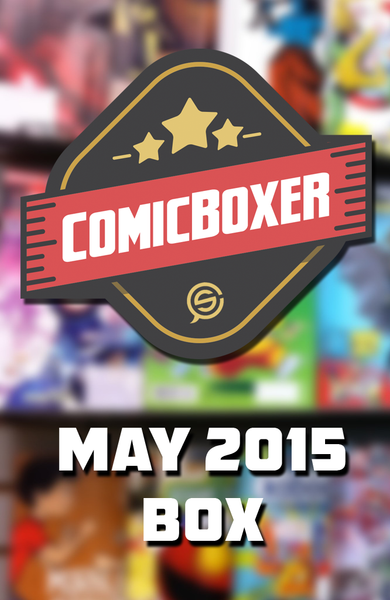 ComicBoxer MAY 2015 Mystery Box