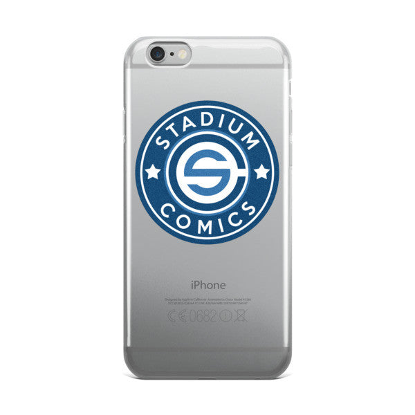 Stadium Comics Logo iPhone Case
