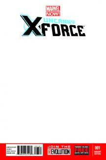 Uncanny X-Force #1 NOW Blank Variant Cover