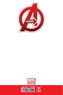 Avengers #1 NOW Blank Variant Cover