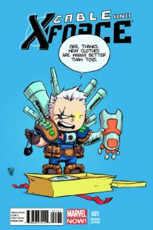 CABLE AND X-FORCE #1 SKOTTIE YOUNG VARIANT