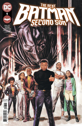 NEXT BATMAN SECOND SON #1 PRE-ORDER