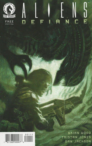 ALIENS DEFIANCE 2016 PREVIEW ASHCAN